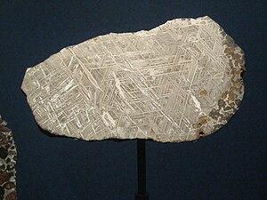 Brenham (meteorite) - Image: Brenham meteorite, almost olivine less