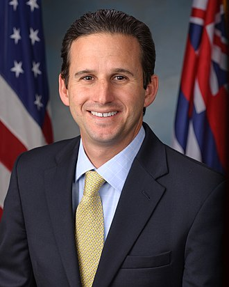 United States congressional delegations from Hawaii - Image: Brian Schatz, official portrait, 113th Congress 2