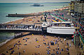 Brighton Pier and seashore from Brighton Wheel.jpg