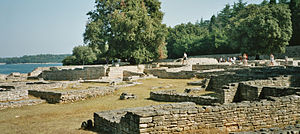 English: Byzantine Castrum at Brijuni