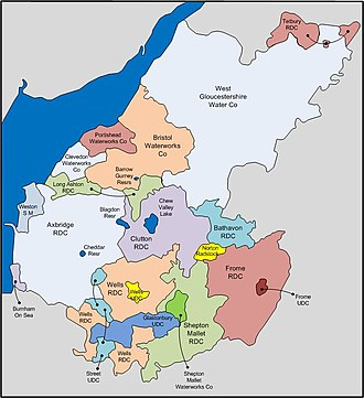 Bristol Water - Water providers that amalgamated with Bristol Water (1952-1964)
