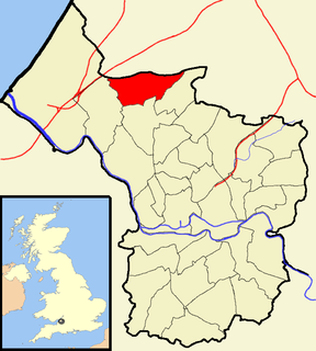 Henbury Human settlement in England