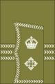 1902 to 1920 lieutenant colonel's sleeve cuff rank insignia