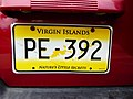 British Virgin Islands — license plate 2010.jpg