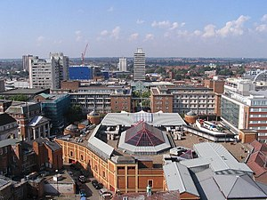 Coventry - Skyline of Coventry city centre