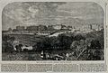 Broadmoor Criminal Lunatic Asylum; panoramic view. Wood engr Wellcome V0047625.jpg
