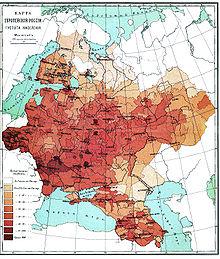 российская империя при петре 1 карта