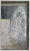 Brooklyn Museum - The Angel Seated on the Stone of the Tomb (L'ange assis sur la pierre du tombeau) - James Tissot.jpg