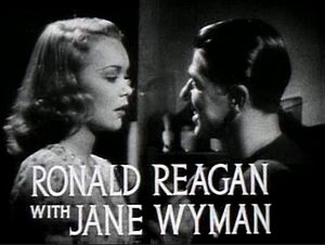 Ronald Reagan filmography - Reagan and Jane Wyman in Brother Rat, 1938
