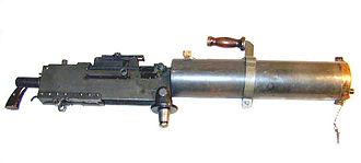 M1917 Browning machine gun - Browning Model 1917A1 water-cooled machine gun