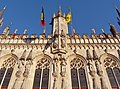 Bruges Hôtel de Ville1.JPG