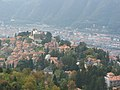 Brunate in Front, Como in the background (view from Faro tower), Italy - panoramio.jpg
