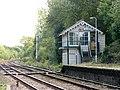 Brundall railway station - signal box - geograph.org.uk - 1531799.jpg