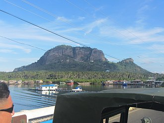 Tawi-Tawi - Bud Bongao, a 250-hectare mountain-forest and sacred mountain of Tawi-Tawi