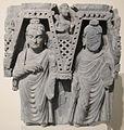 Buddha del passato entro nicchie, slate, gandhara, II sec.JPG