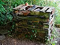 Bug hotel at Woods Mill, Sussex Wildlife Trust, England - insect hotel.jpg