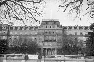 International Committee on Intellectual Cooperation - Image: Bundesarchiv Bild 102 11045, Genf, Haus des Völkerbundrates