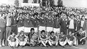 Bundesarchiv Bild 183-U0529-0306, BFC Dynamo - Dynamo Dresden 3-1, Mannschaftsfoto