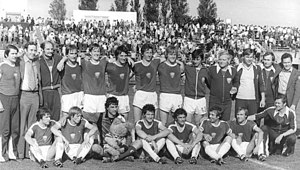 Berliner FC Dynamo - Dynamo, after winning the title in 1979