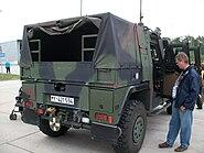 Bundeswehr mowag eagle IV back