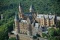Burg Hohenzollern (1. Burg, 1000-1267 ^ 3. Burg 1850-1867) - panoramio.jpg