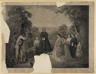 Willoughby Newton - Burial of William D. Latané, C.S.A., on Summer Hill Plantation
