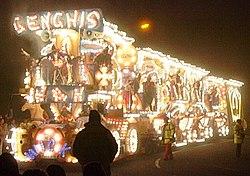 Burnham Karnavalı'nda Cengiz Han tanıtımı