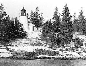 Burnt Island Light - Image: Burnt Island Light, Maine