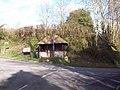 Bus shelter opposite The White Horse, Sutton - geograph.org.uk - 354085.jpg