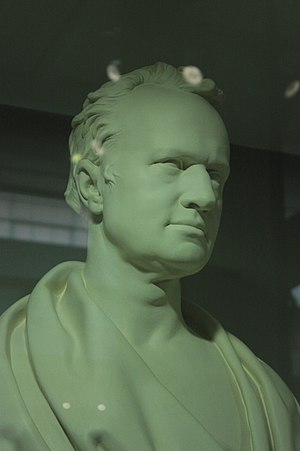 Marc Isambard Brunel - Bust of Marc Isambard Brunel, Science Museum, London