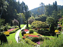 Charmant The Sunken Garden Of Butchart Gardens, Victoria, British Columbia