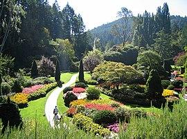باغ بوچارت در کانادا.