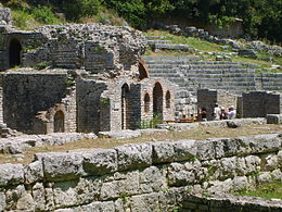 Butrint Albania 5 Asclepios Sanctuary and Greek Theatre.jpg