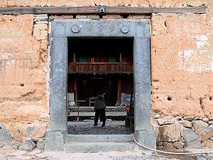 Tianluokeng Tulou cluster - Buyun building main gate