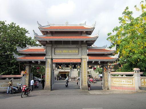 Cổng chùa Vĩnh Nghiêm