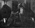 C.A. Lorentzen - Husspøgelse eller Abracadabra, III akt, 1. scene - KMS485 - Statens Museum for Kunst.jpg