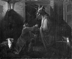 Husspøgelse eller Abracadabra, III akt, 1. scene