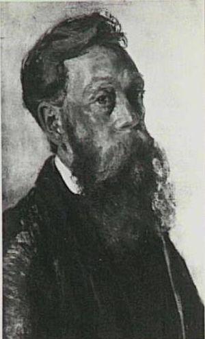 Carel Adolph Lion Cachet - Self portrait, 1905-1910