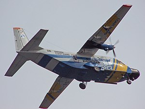 Airbus Military - Image: CASA 212 side