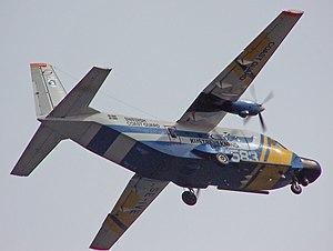 Construcciones Aeronáuticas SA - Former CASA C-212 Aviocar of the Swedish Coast Guard