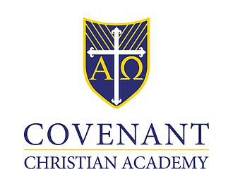 Covenant Christian Academy (West Peabody, Massachusetts) - Image: CCA Peabody MA logo
