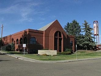 Concordia Lutheran Seminary - Concordia Lutheran Seminary (2008), as seen from Ada Boulevard.