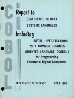 COBOL Programming language with English-like syntax