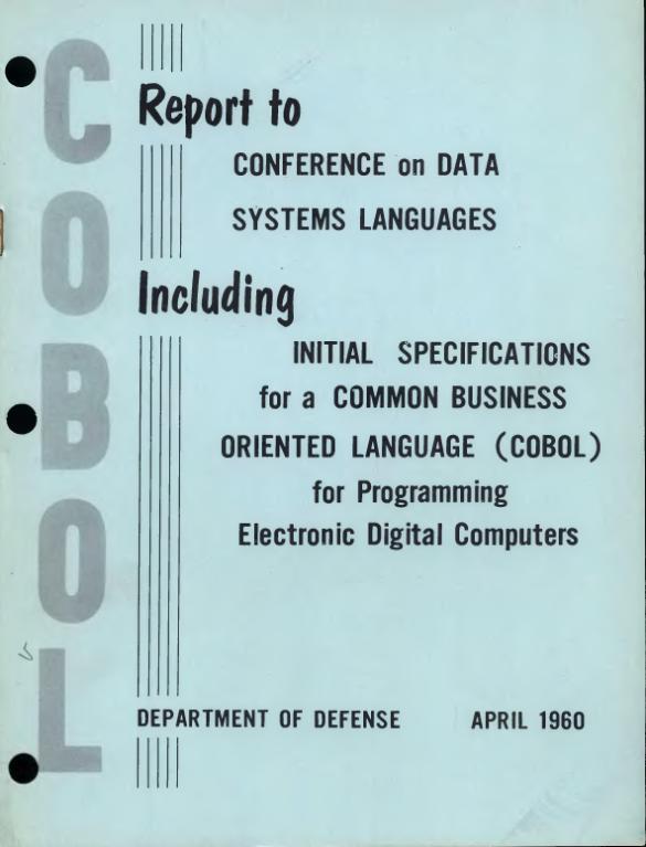 File:COBOL Report Apr60 djvu - Wikimedia Commons