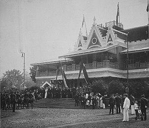 Cikini Hospital - Image: COLLECTIE TROPENMUSEUM Opening van de Tentoonstelling te Batavia van 1893 T Mnr 60023354