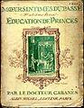 Cabanès, Éducation de Princes 001 1ère de couverture.jpg