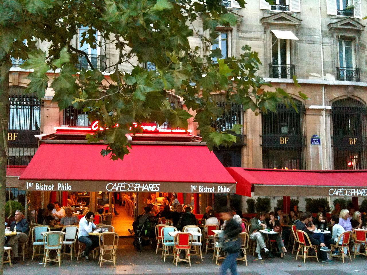 Caf Ef Bf Bd Bastille A Paris