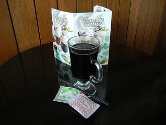 Caffè Americano - Caffè Americano is brewed coffee in the Philippines.