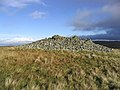 Cairn on Lumsdon Law - geograph.org.uk - 280739.jpg