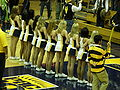 Cal Dance Team at 2008 Golden Bear Classic championship game 8.JPG